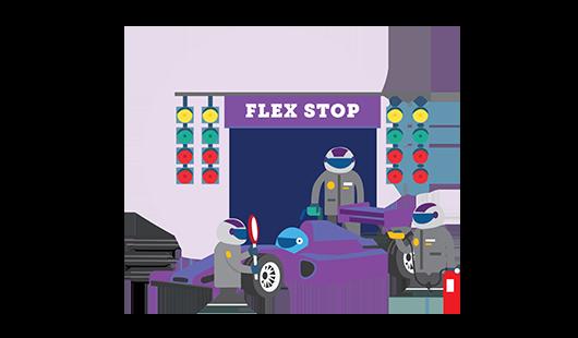 Flex stop